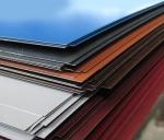 Плоский лист с полимерным покрытием, толщина металла 0,5 мм