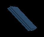Конек-карниз синий